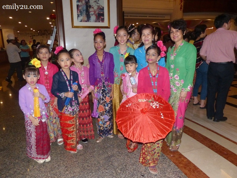 2. Peranakan performers through different generations