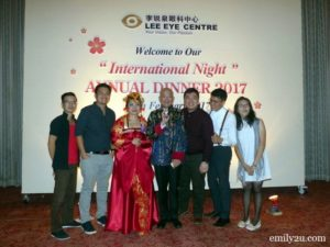 9 Lee Eye Centre Annual Dinner