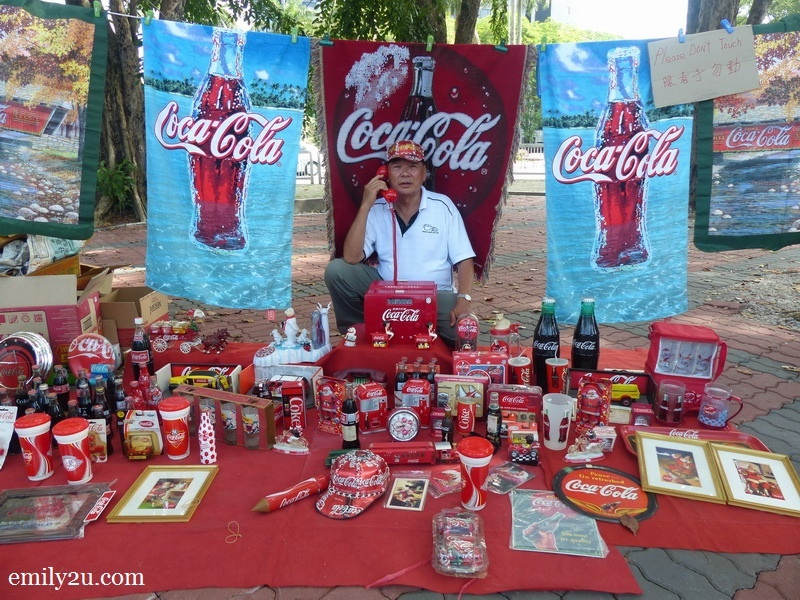 9. Uncle Chow with his Coca-Cola collectibles