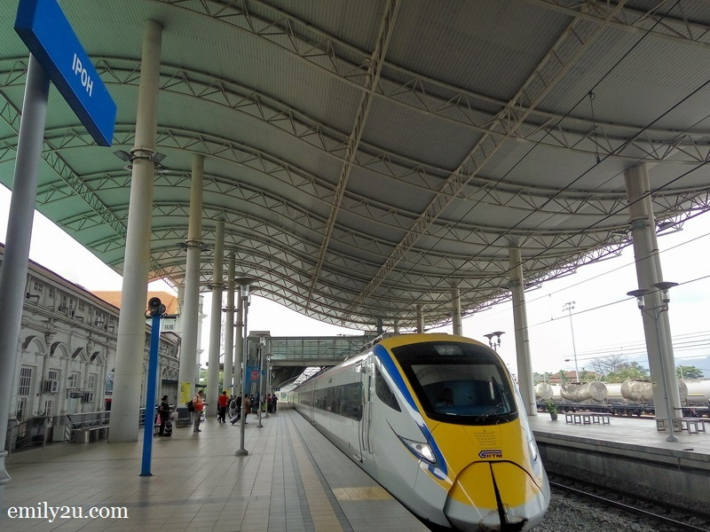 ETS at Ipoh Railway Station