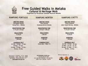 Melaka Cultural Heritage Walk