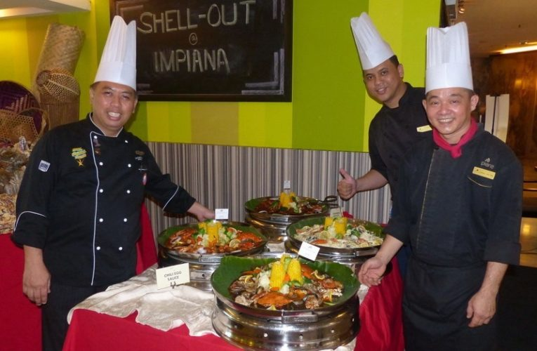 It's Shell-Out Time @ Impiana Hotel Ipoh + Get Free Sauces!!