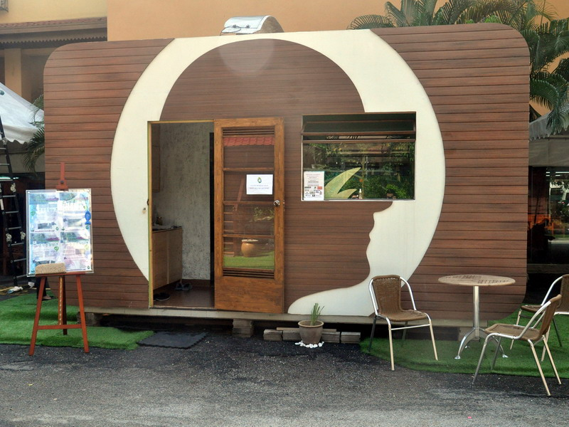 1. Tiny Home previously displayed at Kompleks Kraf KL, Jalan Conlay
