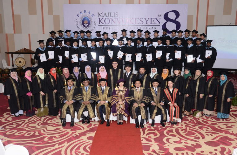 8th Convocation Ceremony of Perak College of Technology