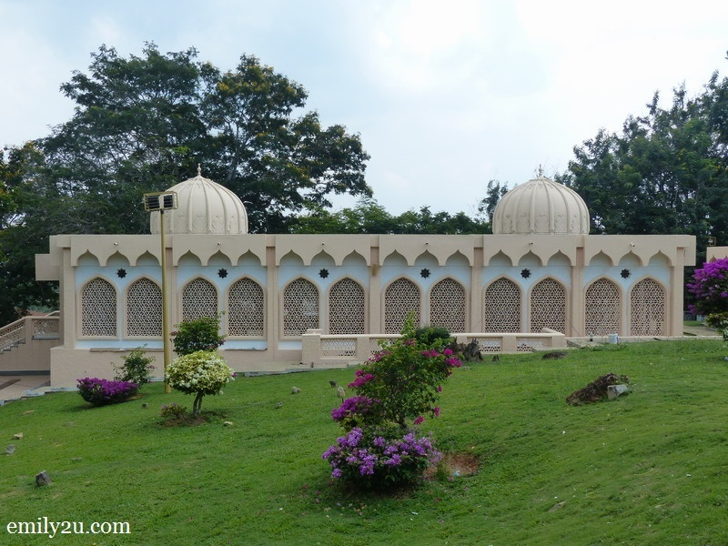 10. The Kota Malawati Royal Mousoleum