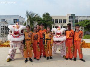 12 lion dance