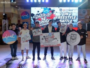 13 freestyle battle winners