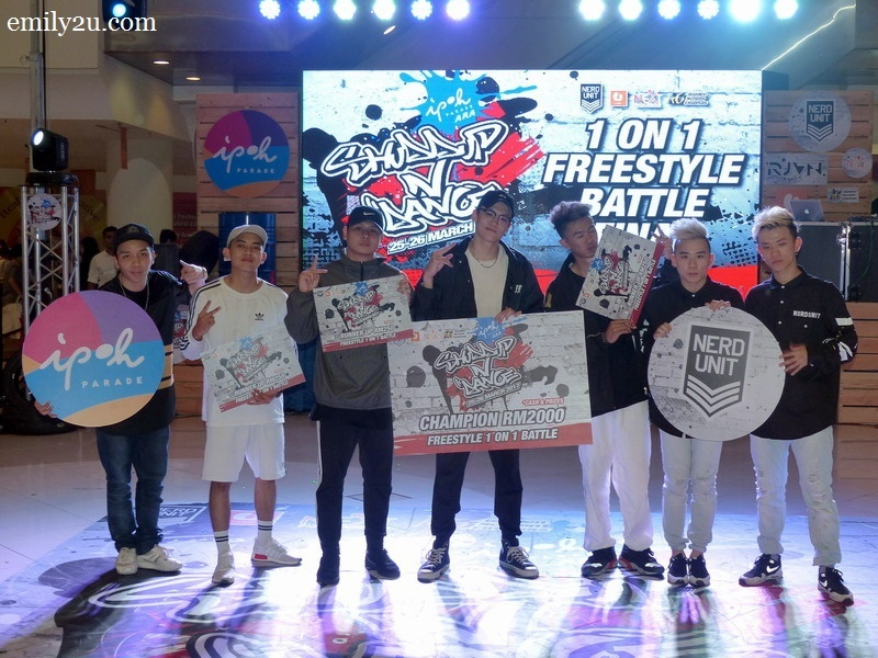 13. freestyle battle top four winners