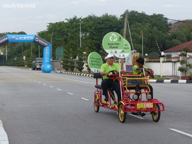 2. environmental messages from Ipoh City Watch (ICW)