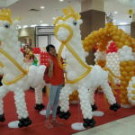 Mega Fantasy-Themed Balloon Sculpture