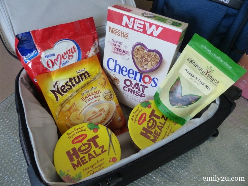 3. all foodstuff packed and I am ready to go