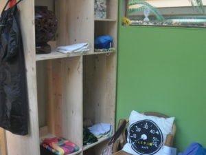 3 The cosy interior