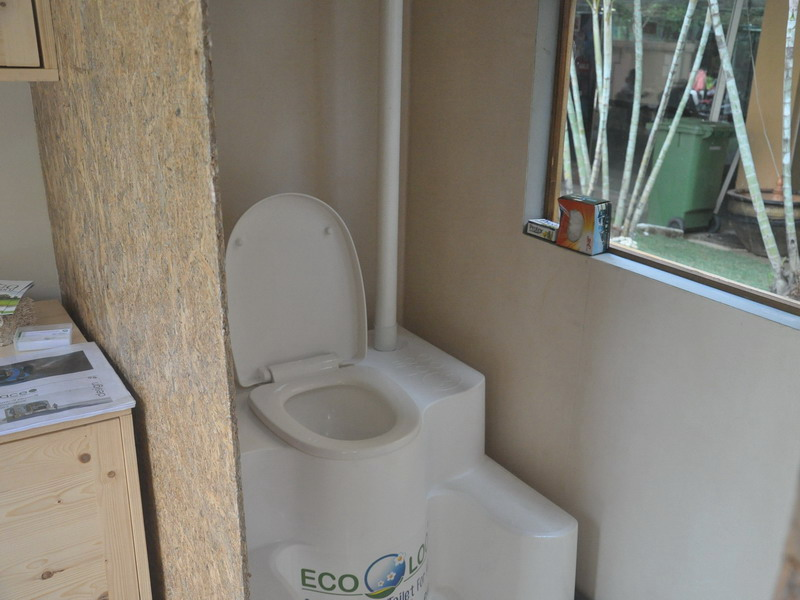 5. the Ecoloo installed inside Tiny Home