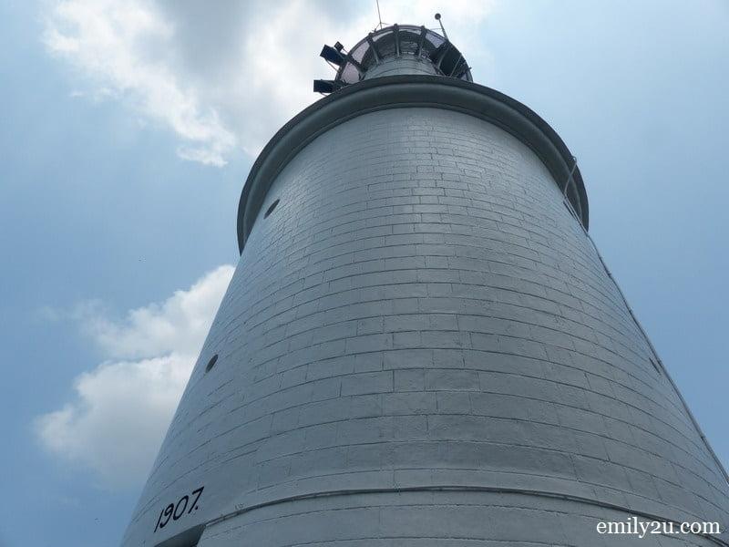 Kuala Selangor Lighthouse, built in 1907 @ Melawati Hill