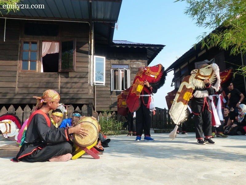 7. Kuda Kepang dance