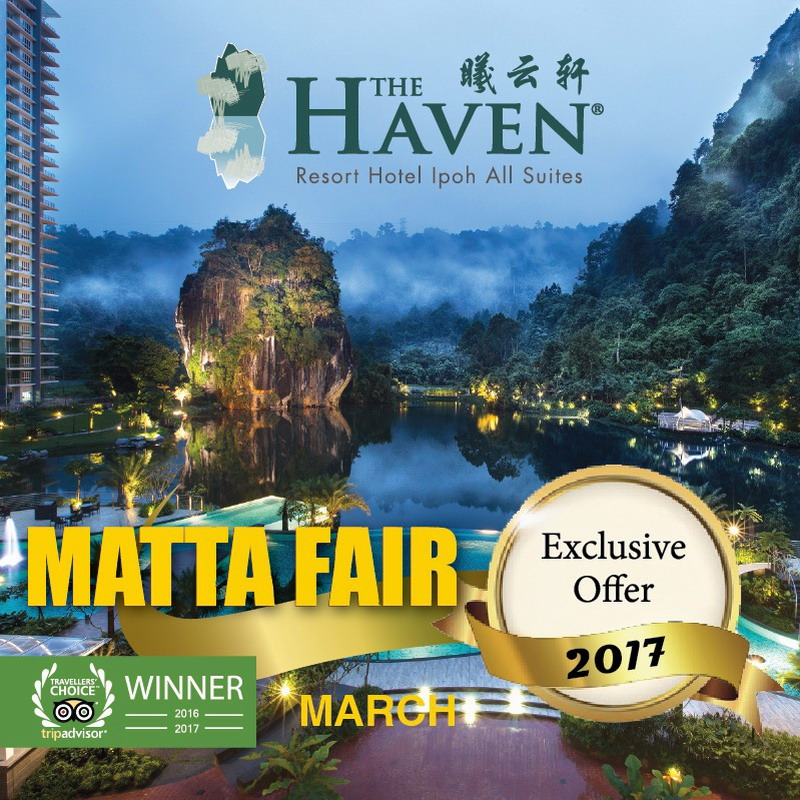 Yippee! The Haven's MATTA Fair promotion has been extended!