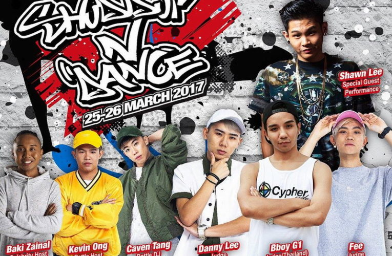 Announcement: Shuddup N' Dance 2017 (Ipoh Parade)