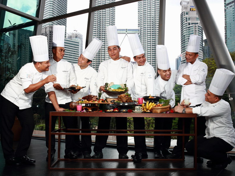 1. part of the 52-strong culinary crew behind 'Kampung in the City' Ramadan menu at Kuala Lumpur Convention Centre