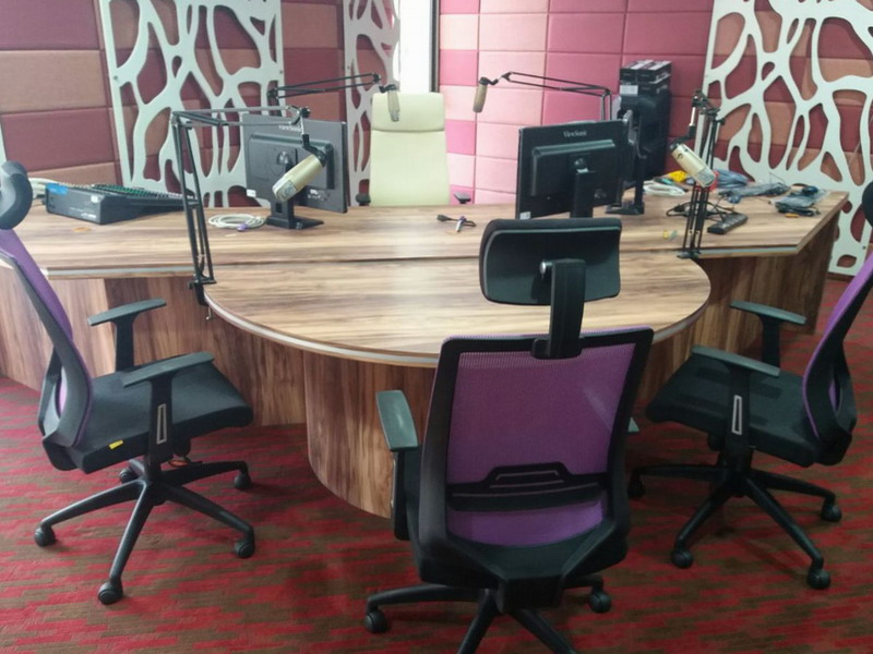 1. Radio MBI broadcast studio