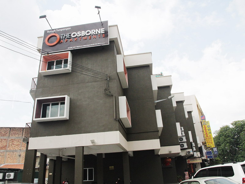 The Osborne Apartments, Ipoh
