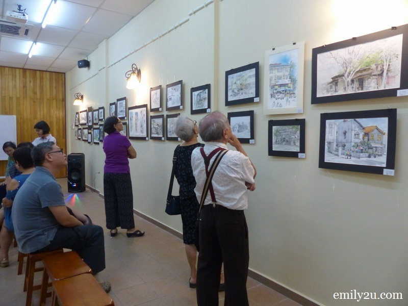 10. the drawings bring back plenty of memories for senior citizen