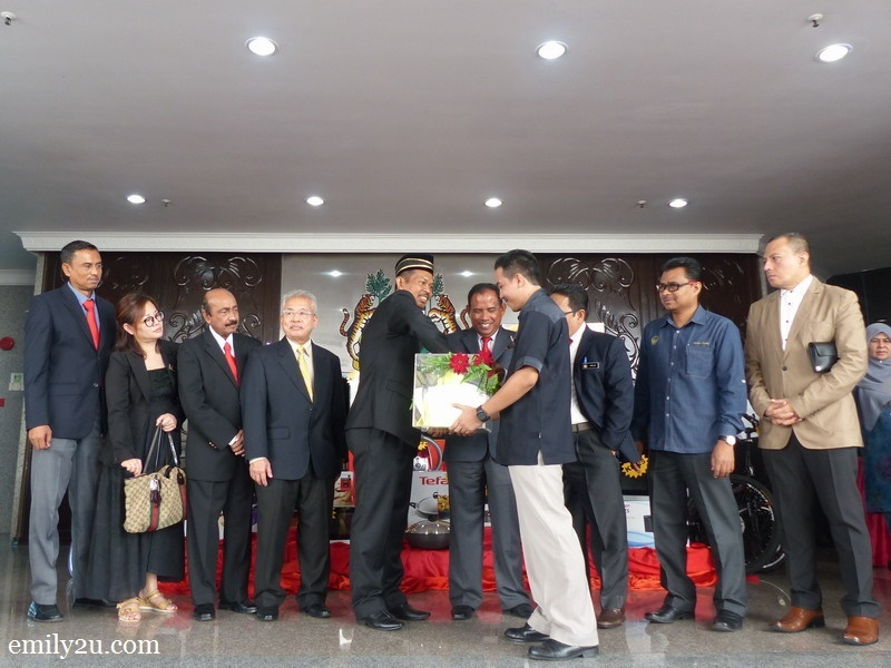 2. Ipoh Mayor draws the first winner
