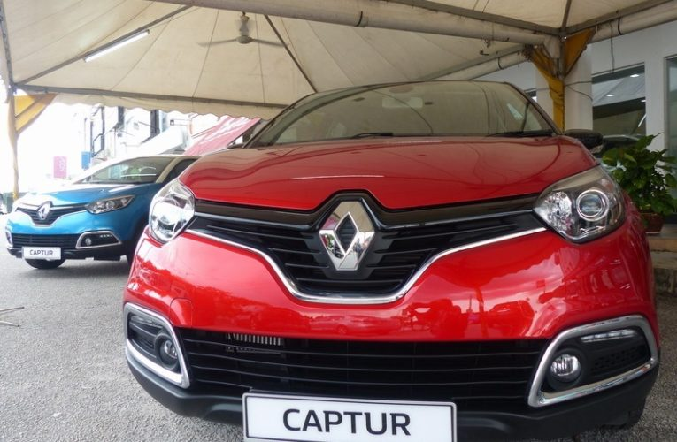 Launch of Renault Captur Crossover & Koleos SUV