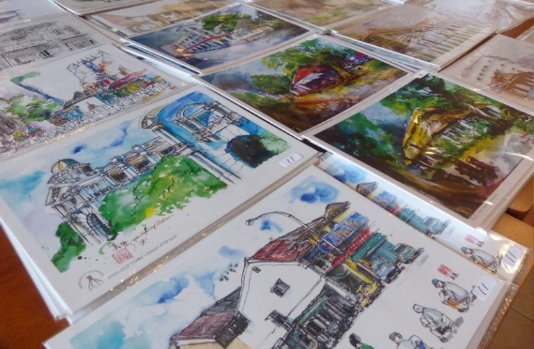 We Love Sketching – Urban Sketchers Ipoh 1st Anniversary Exhibition & Charity Event