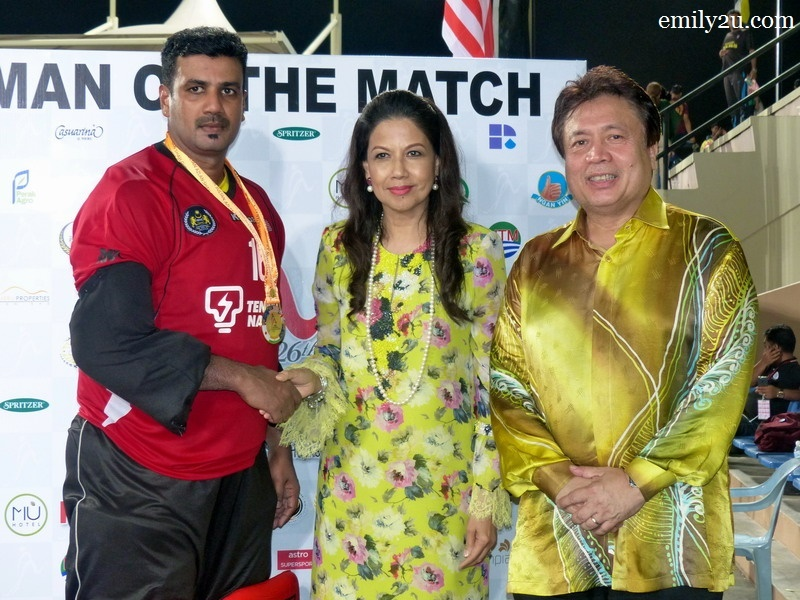 4. Man of the Match - S. Kumar (Malaysia)