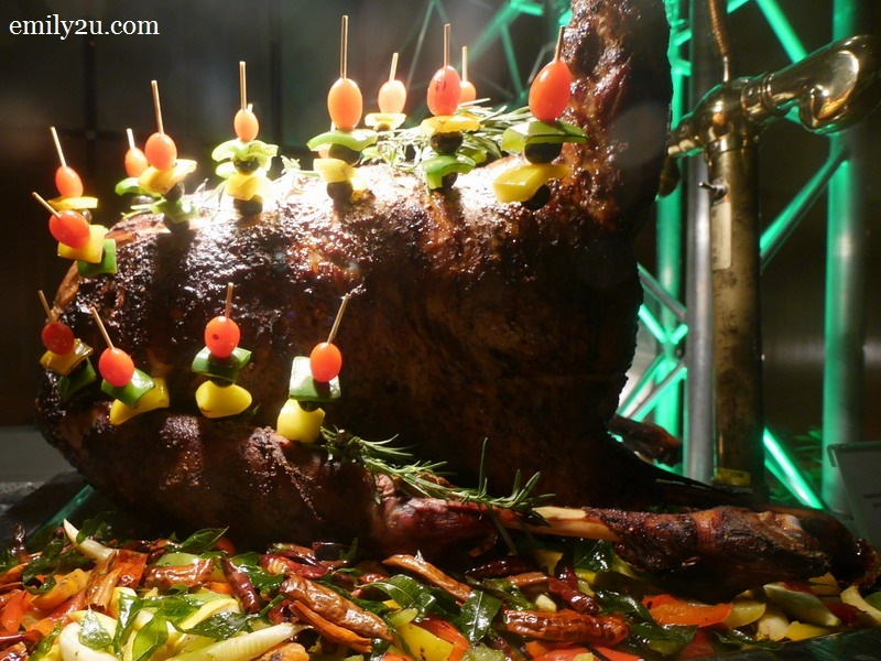 5. roasted whole lamb