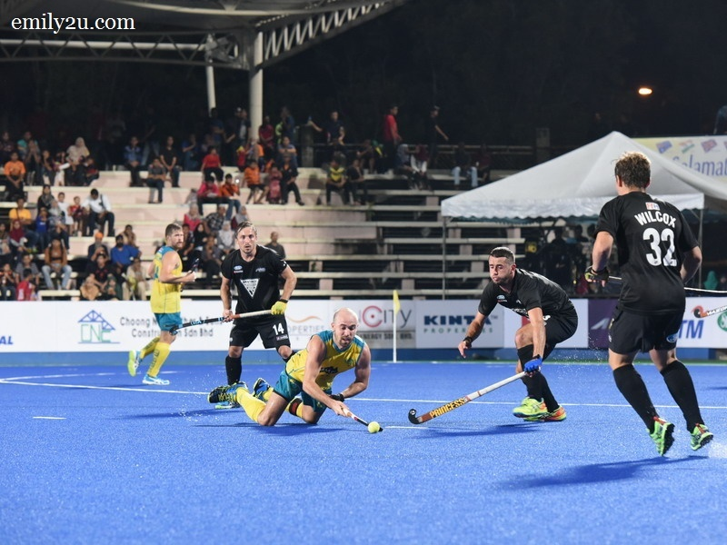 5. game ended with Australia 1 - New Zealand 1