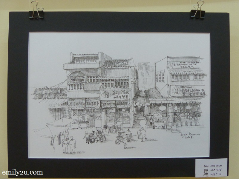 5. one of the sketches displayed - by Nyia Kee Chin
