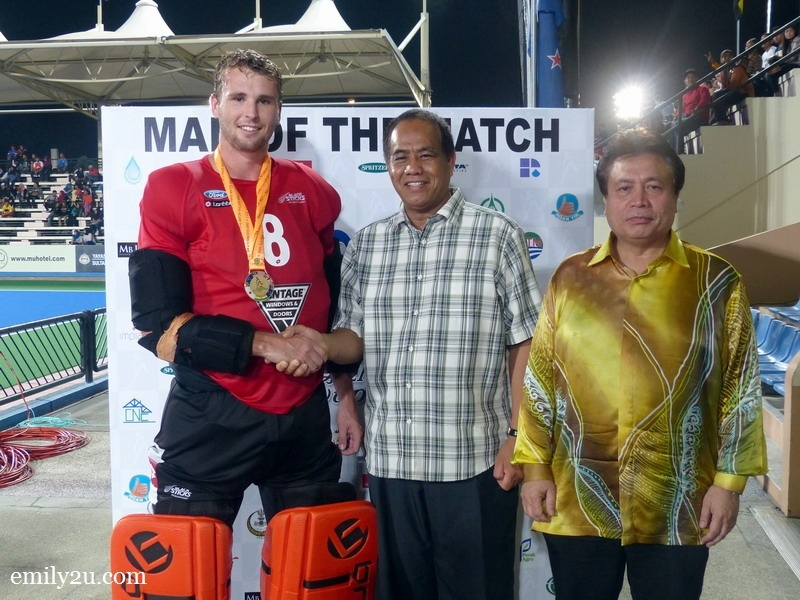 6. New Zealand's Richard Joyce is Man of the Match