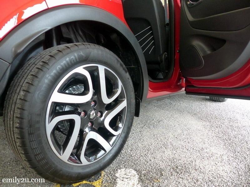 7. rear drum brakes