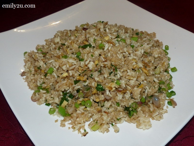 9. Fried Rice with Crispy Grain