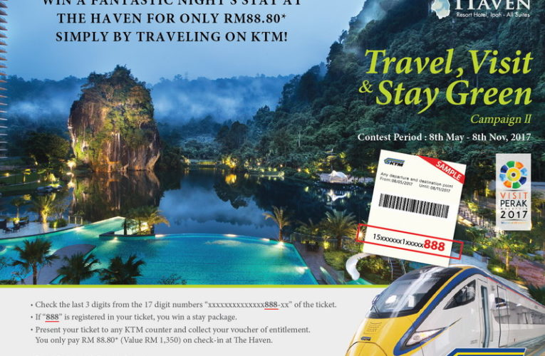 Pay RM88.80+ ONLY For A Luxury Stay at The Haven, Ipoh!