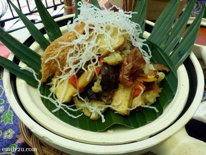 12. vegetarian dish