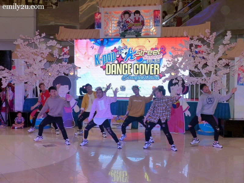 14. a performance by Rejuvenate Dance Crew
