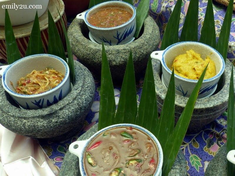 14. sambal-sambal for ulam-ulaman