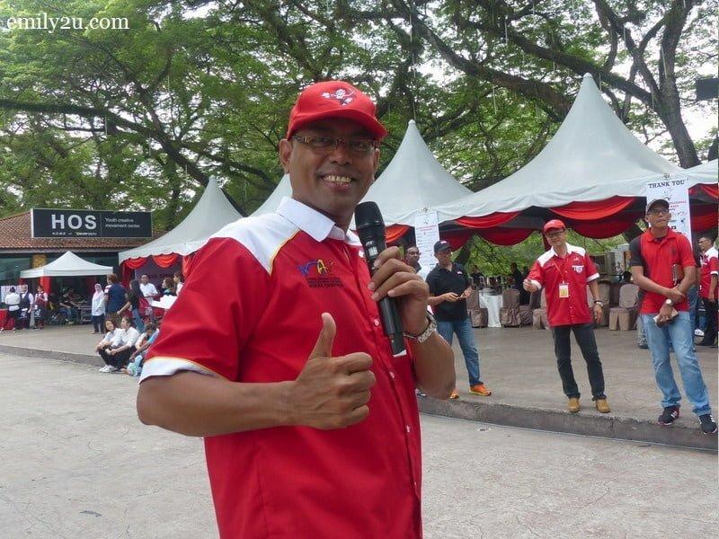 15. top Perak emcee, KT Pillai