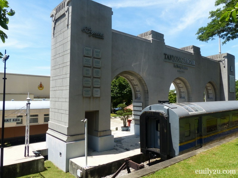 19. replica of Tanjong Pagar Railway Station