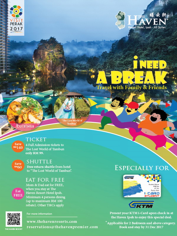 2. I Need A Break (Travel with Family & Friends)