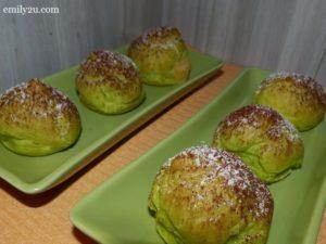 25 durian puffs