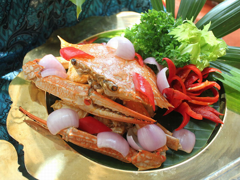 3. crab meat seafood salad