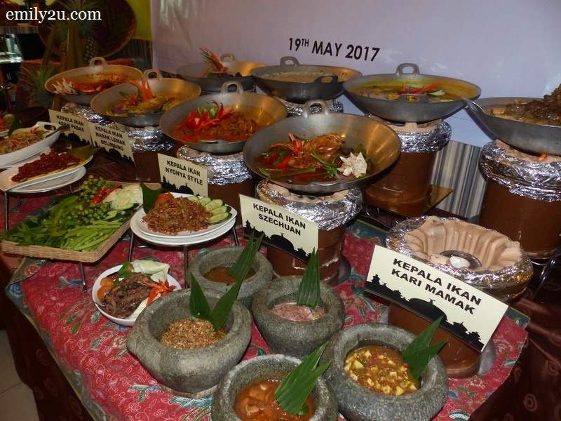 3. a selection of dishes that are available at Impiana Hotel Ipoh for breaking of fast