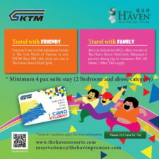 3 The Haven KTMB Promotion
