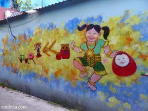 3 wall murals