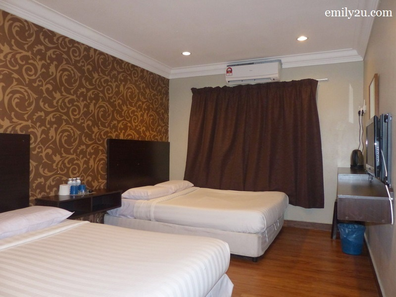 4. one of the guest rooms