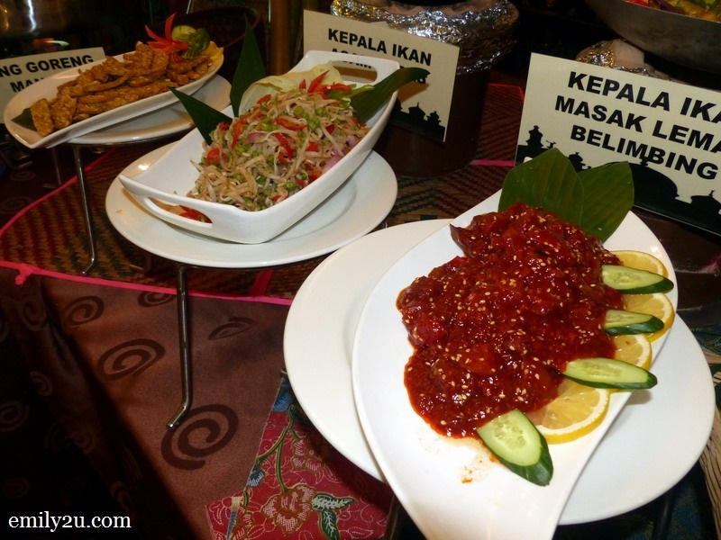 4. part of the menu for Ramadan at Impiana Hotel Ipoh