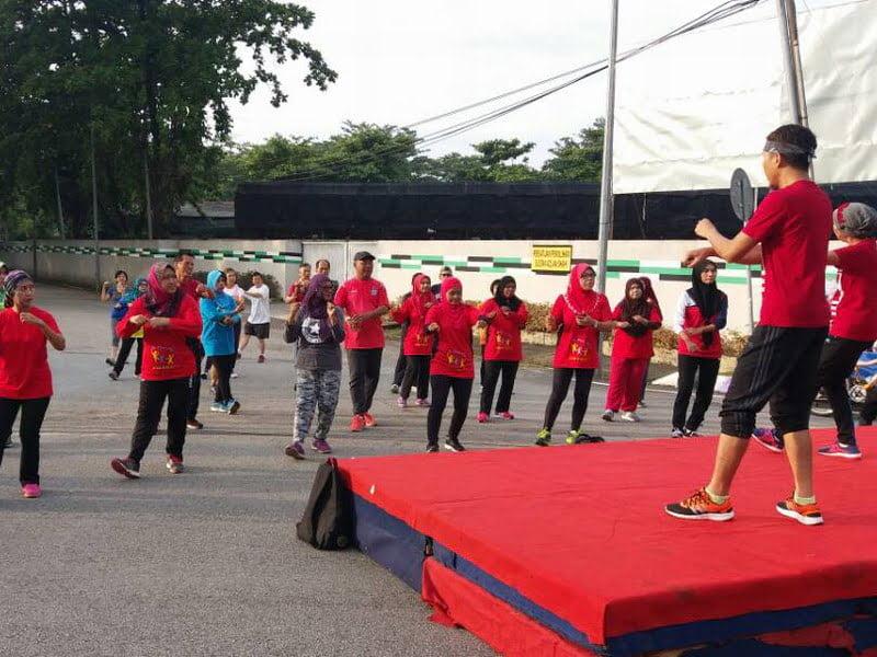 4. aerobics